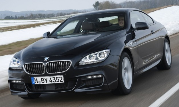 2012 BMW 640d xDrive offers diesel and all-wheel-drive awesomeness