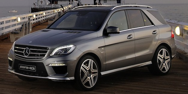 2012 Mercedes-Benz ML63 AMG price starts at $95,865