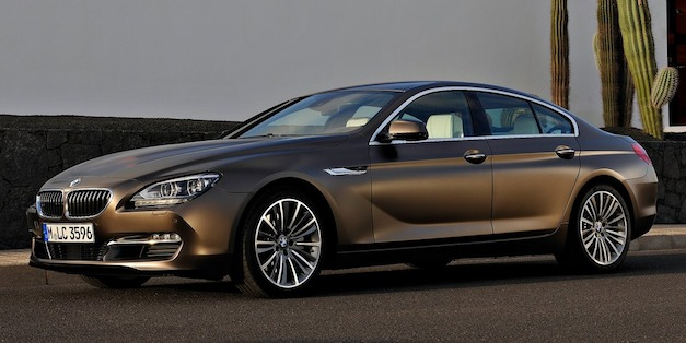 2013 BMW 640i Gran Coupe price starts at $76,895