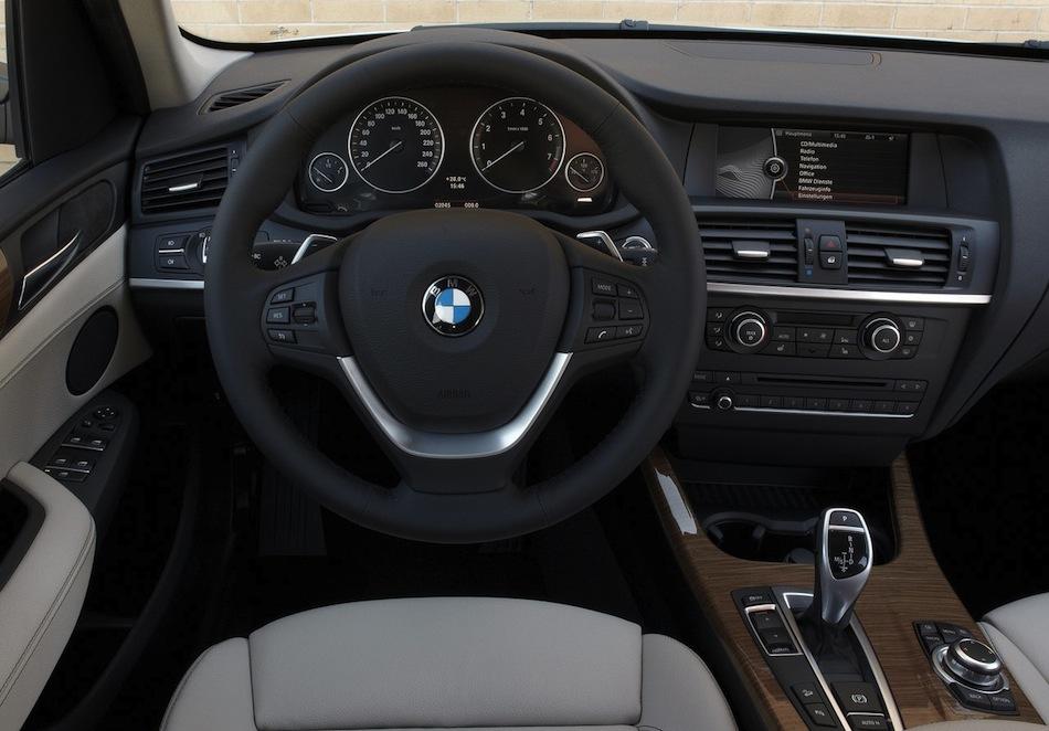 2014 BMW X3 Interior