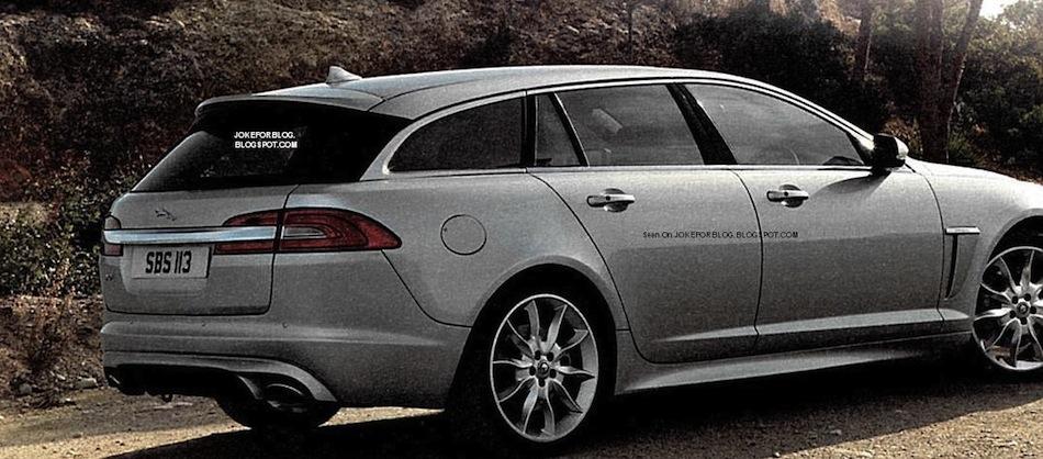 2013 Jaguar XF Sportbrake Leaked Shots