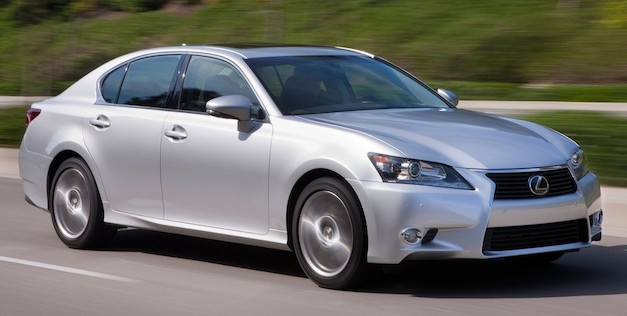 2013lexusgsaction More than 1,000,000 miles of driving went into developing the 2013 Lexus GS