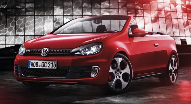 2013 Volkswagen Golf Cabriolet GTI unveiled, debuting in Geneva next week