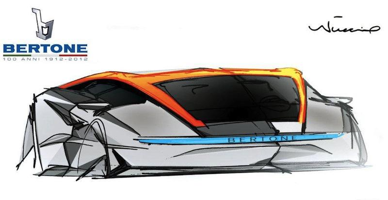 Bertone Nuccio Concept Sketch