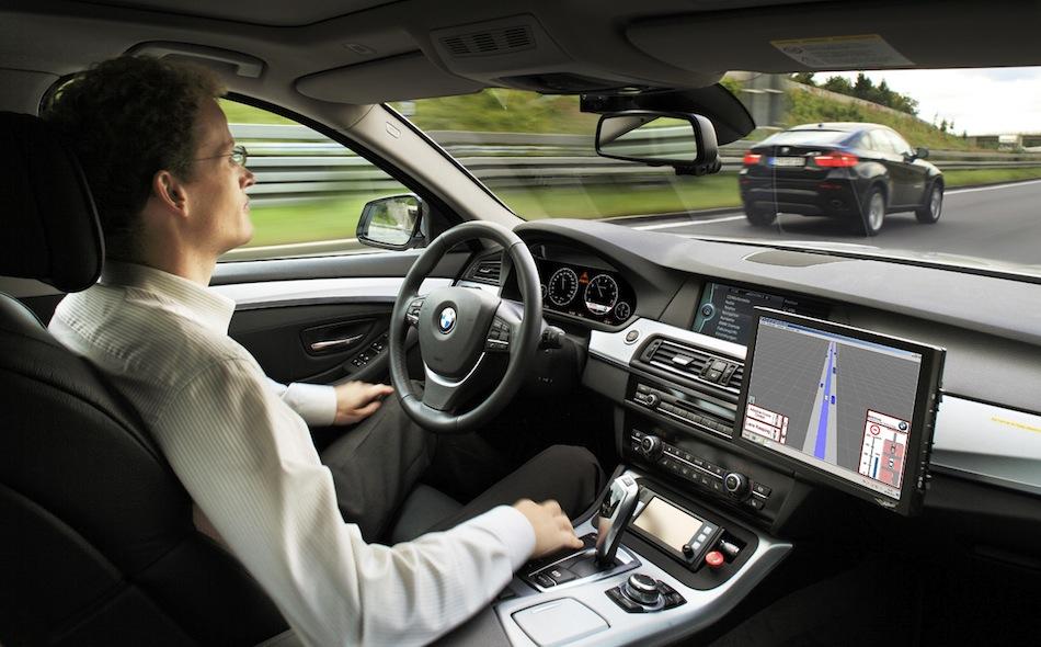 BMW 5 Series ConnectedDrive