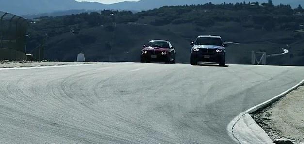 BMW X5 M vs. BMW M3 Coupe
