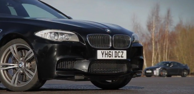 bmwm5vsnissangtr Video: AutoCar pins the 2013 Nissan GT R against the 2012 BMW M5