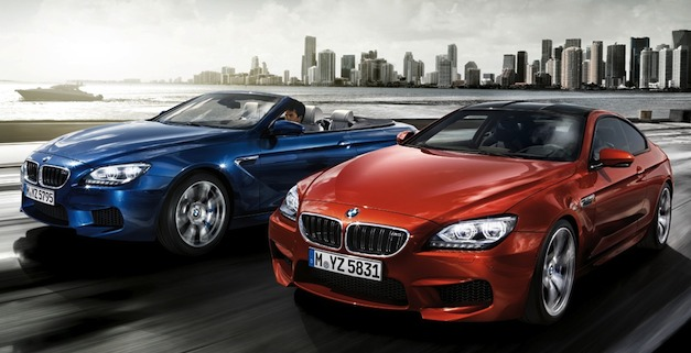 Brand Spankin' New Images: 2013 BMW M6 Coupe and Convertible