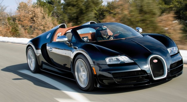 2012 Bugatti Veyron Grand Sport Vitesse is a roadster Super Sport