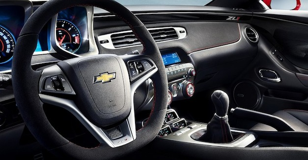 2012 Chevrolet Camaro ZL1 6-speed automatic improves tap response by 60% thanks to new TapShift tech