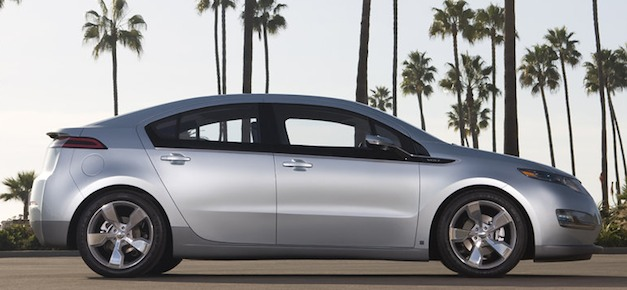 chevroletvolt sideview GM misses Chevy Volt sales goal in 2011, Jan. 2012 also sluggish