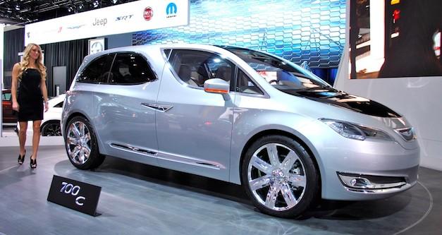 2012 Detroit Auto Show Chrysler 700C