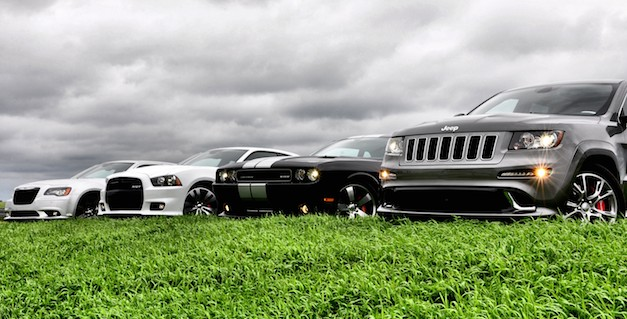 Chrysler SRT Group Lineup