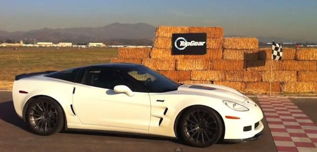 Chevrolet Corvette - Top Gear USA Stig