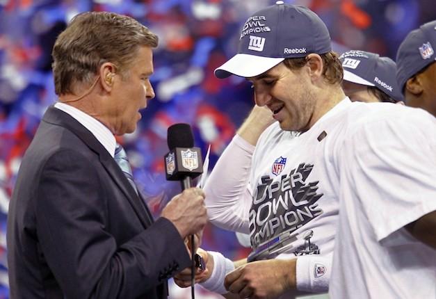 Super Bowl XLVI MVP Eli Manning