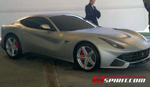 2013 Ferrari F620 GT Leaked Image