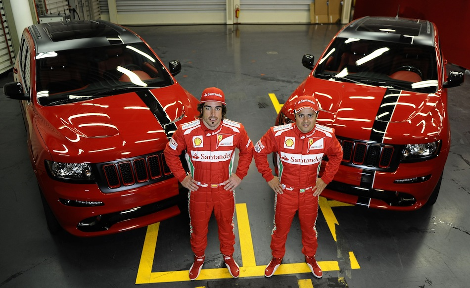 Ferrari-themed 2012 Jeep Grand Cherokee SRT8