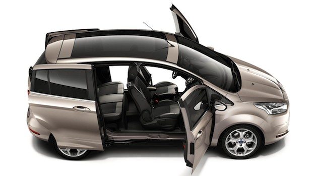 Ford B-MAX Easy Access Door System