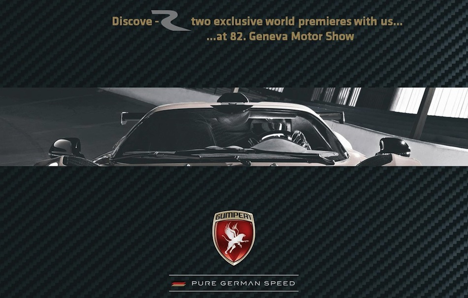 Gumpert 2012 Geneva Motor Show Teaser