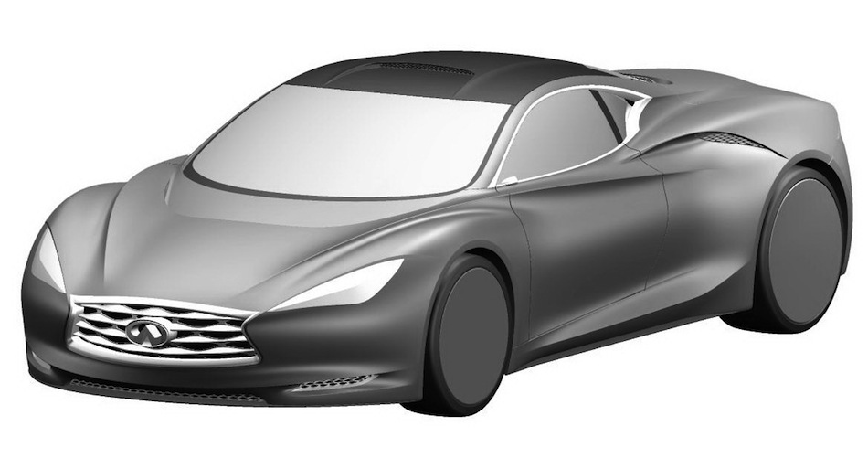 Infiniti EMERG-E Concept patent drawings