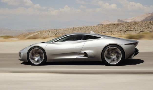 Jaguar C-X75 Concept