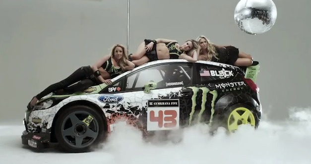 video ken block shows off his new 2012 ford fiesta livery egmcartech. Black Bedroom Furniture Sets. Home Design Ideas