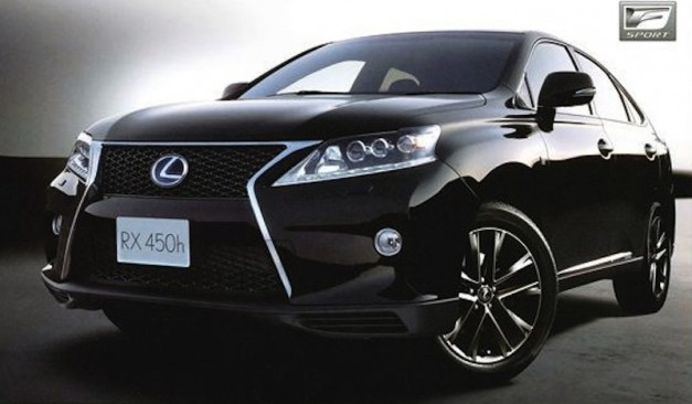 2013 Lexus RX redesign revealed via leaked brochure