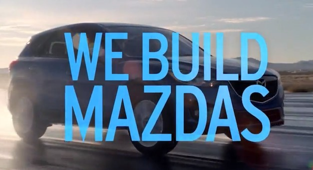 Video: Mazda launches new 'Revolution' campaign to promote SKYACTIV