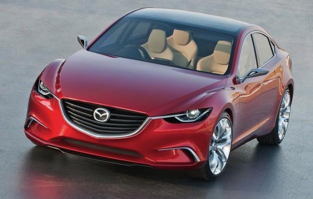 Brand Spankin' New Images: Mazda Takeri Concept