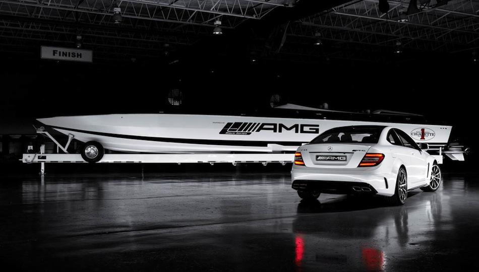 Mercedes C63 AMG Black
