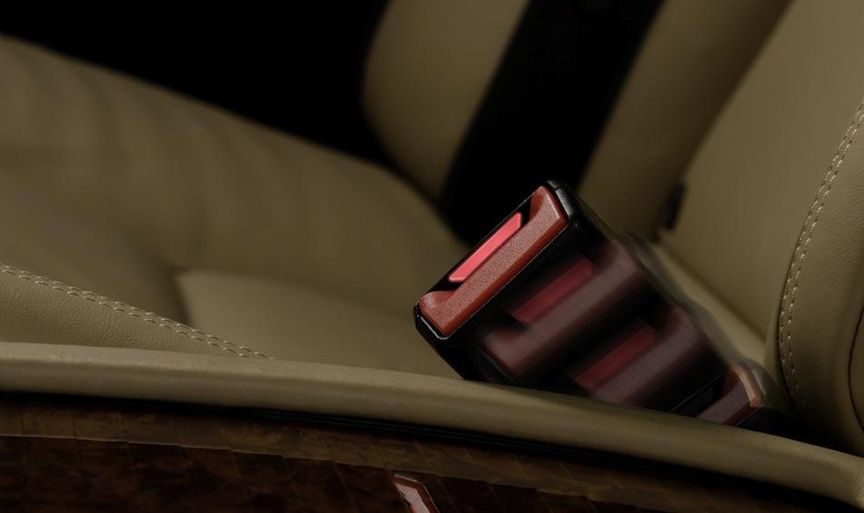 Mercedes-Benz Rear Seat Belt Buckle