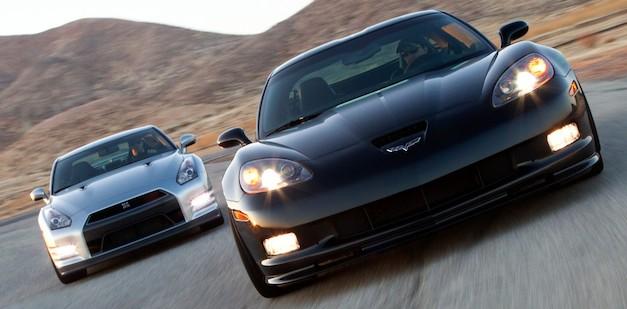 2013 Nissan GT-R vs. 2012 Chevrolet Corvette Z06 Centennial Edition