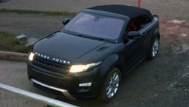 Range Rover Evoque Convertible Concept Live Image