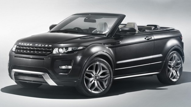 Report: The Range Rover Evoque Cabrio to be limited in production