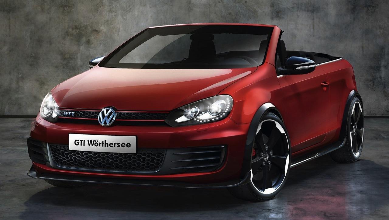 Volkswagen Golf GTI Cabriolet Concept