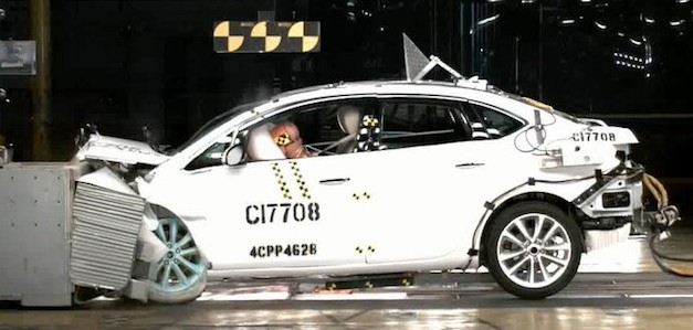 2012 Buick Verano Crash Test