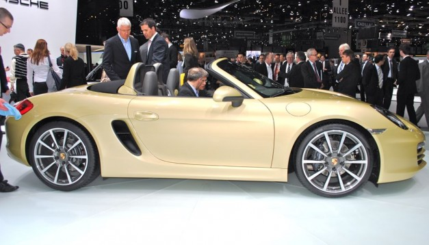 2012 Geneva: 2013 Porsche Boxster