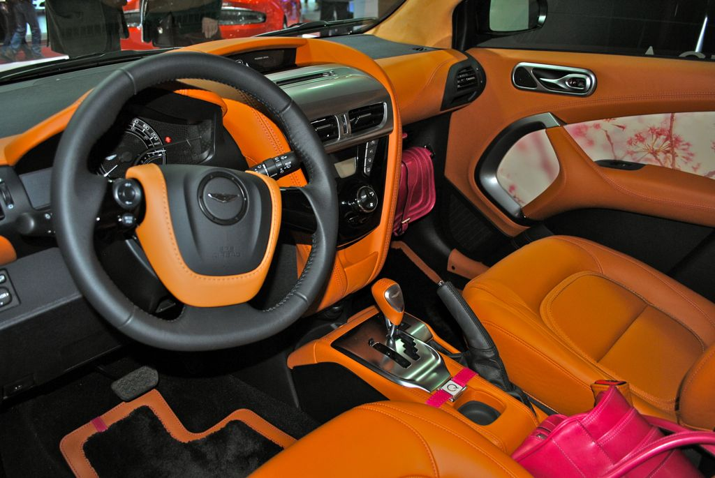 2012 Geneva Aston Martin Cygnet By Q Egmcartech