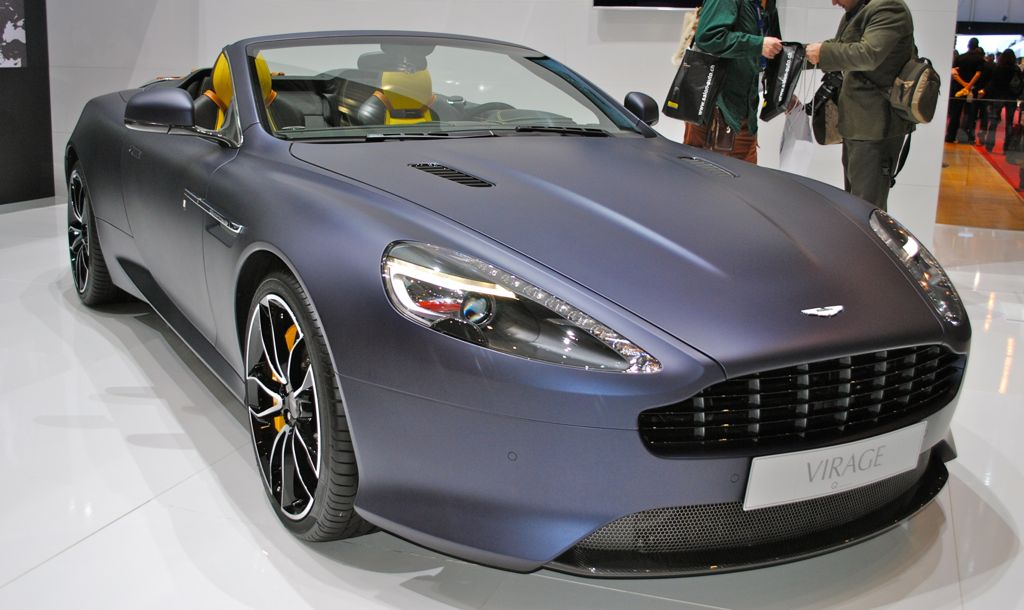 2012 Geneva: Aston Martin Virage by Q