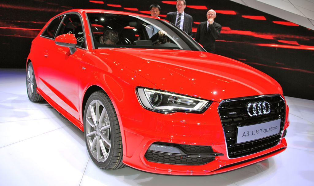 2012 Geneva: 2013 Audi A3