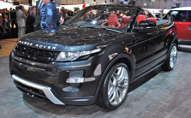 2012 Geneva: Range Rover Evoque Convertible Concept drops its top (w/ Poll)
