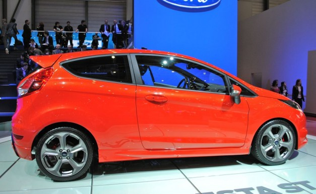2012 Geneva: 2012 Ford Fiesta ST