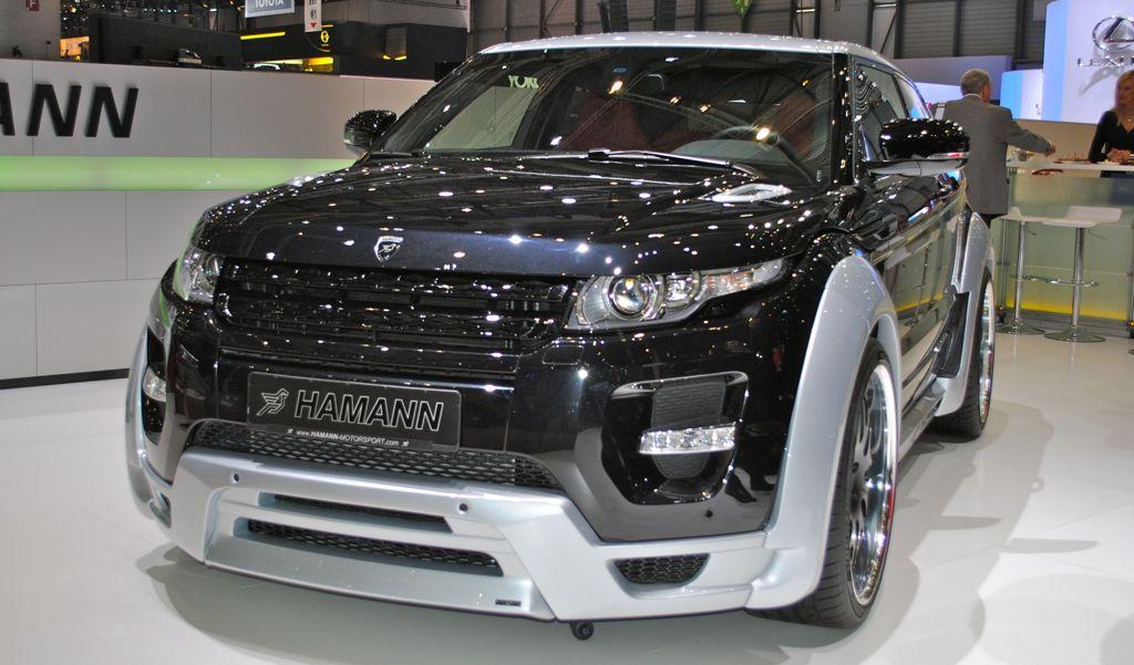 2012 Geneva: HAMANN Range Rover Evoque