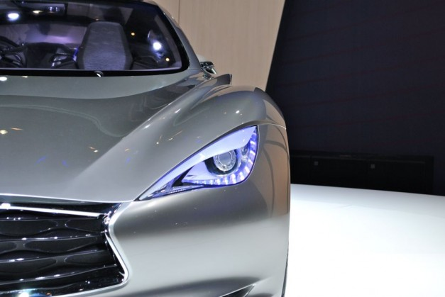 2012 Geneva: Infiniti EMERG-E Concept