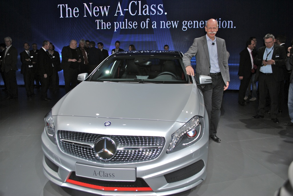2012 Geneva 2013 Mercedes-Benz A-Class