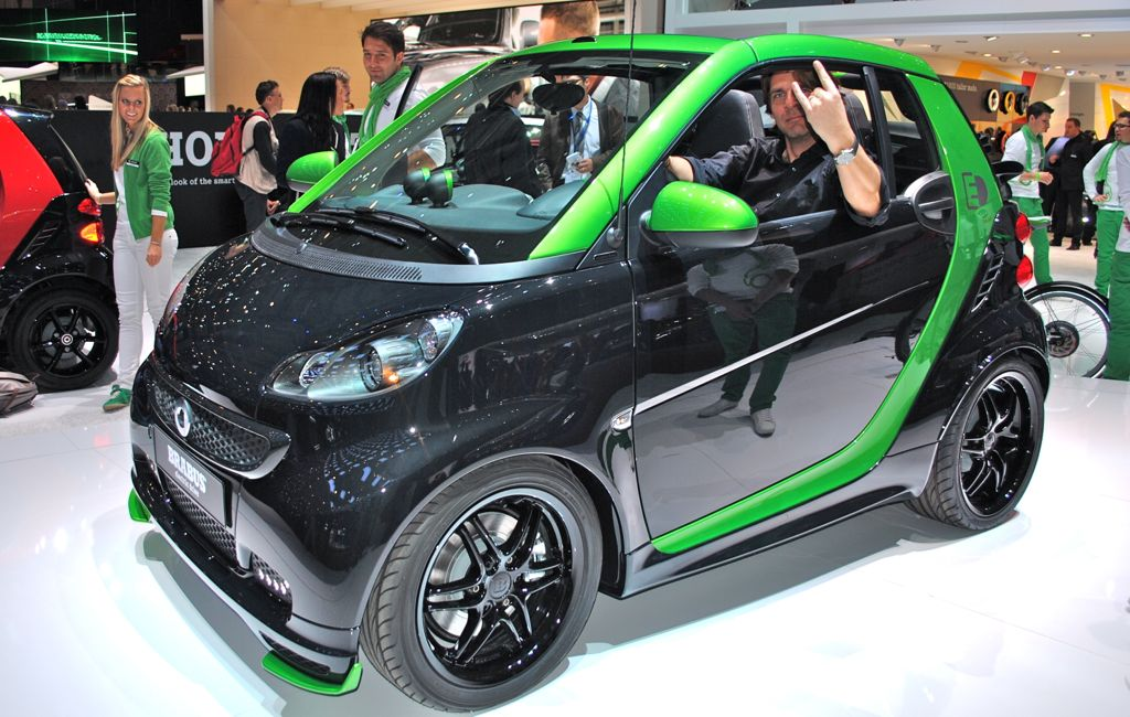 2012 Geneva: Brabus Smart ForTwo Electric