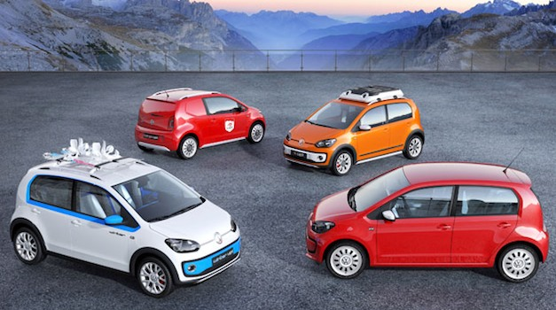 Swiss-themed Volkswagen up! concepts coming to Geneva Motor Show