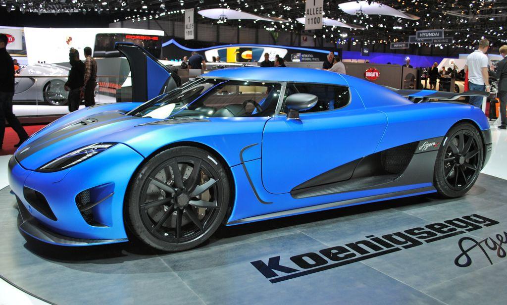 2012 Genvea: Koenigsegg Agera R