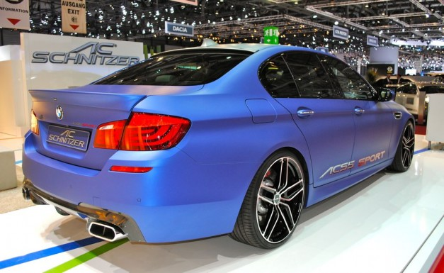 2012 Geneva: AC Schnitzer ACS5