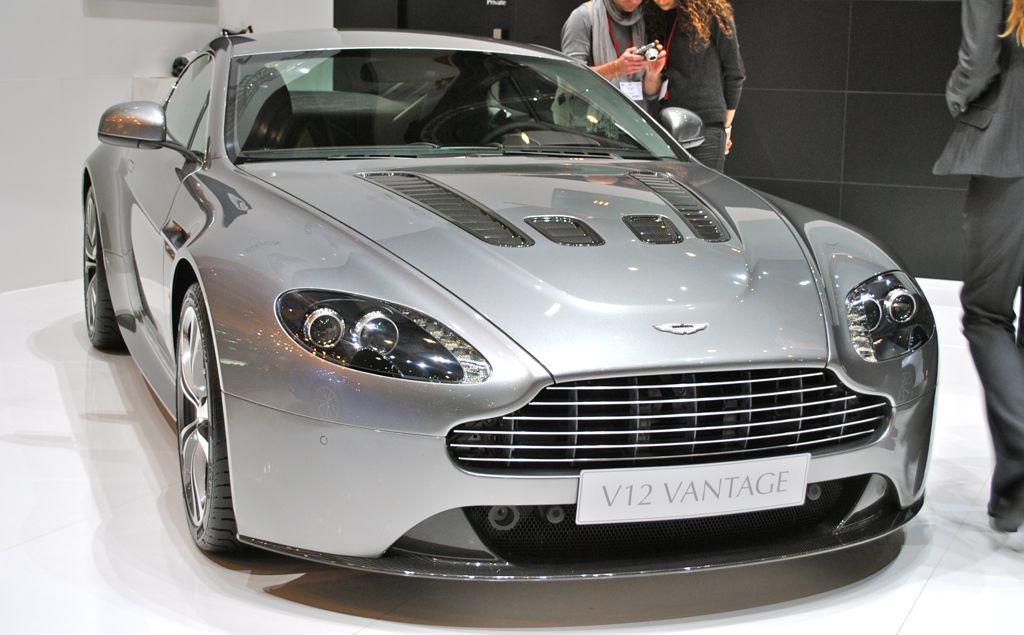 2012 Geneva: 2012 Aston Martin Vantage V12